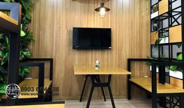 Cải tạo nhà cũ thành quán cafe