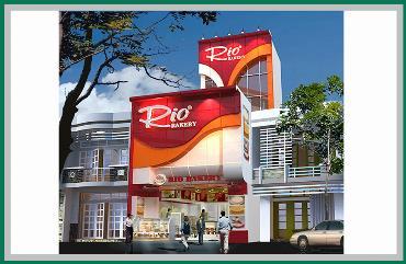 Thiết kế thi công biển hiệu RIO