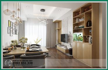 Thiết Kế Thi Công Nội Thất Chung Cư Botanica - Phú Nhuận