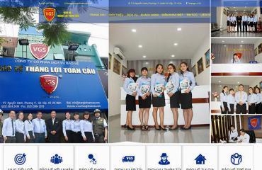 Thiết kế Website Bảo Vệ VGS