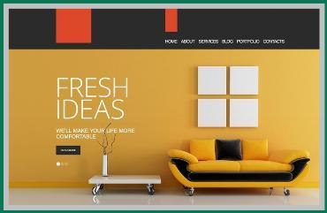 Thiết kế website công ty nội thất Phú Quốc