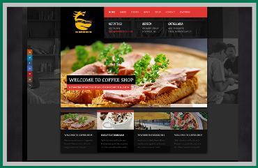 Thiết kế website quán coffee Hậu Giang