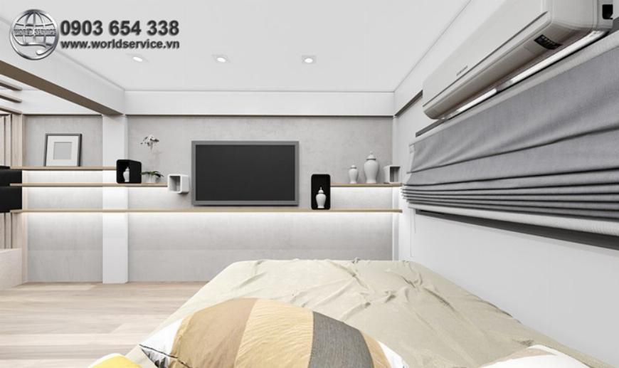 Cải tạo phòng bếp thành phòng ngủ